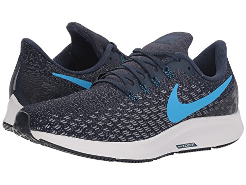 [NIKE(ナイキ)] メンズランニングシューズ?スニーカー?靴 Air Zoom Pegasus 35 Obsidian/Blue Hero/Gunsmoke/Vast Grey 12 (30cm) D - Medium