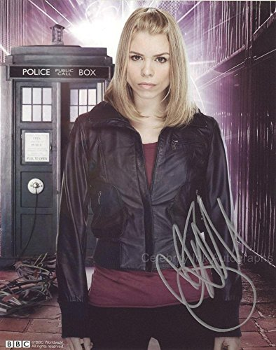 BILLIE PIPER as Rose Tyler - Doctor Who GENUINE AUTOGRAPH