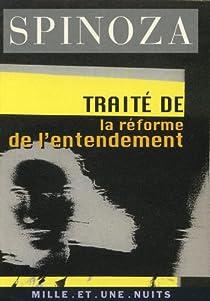 Traité de la réforme de l'entendement par Spinoza
