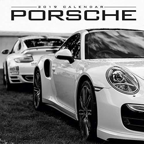 Porsche Calendar - Super Car Calendar - Automobile Calendar - Monthly Wall Calendar (Modern 12x12)
