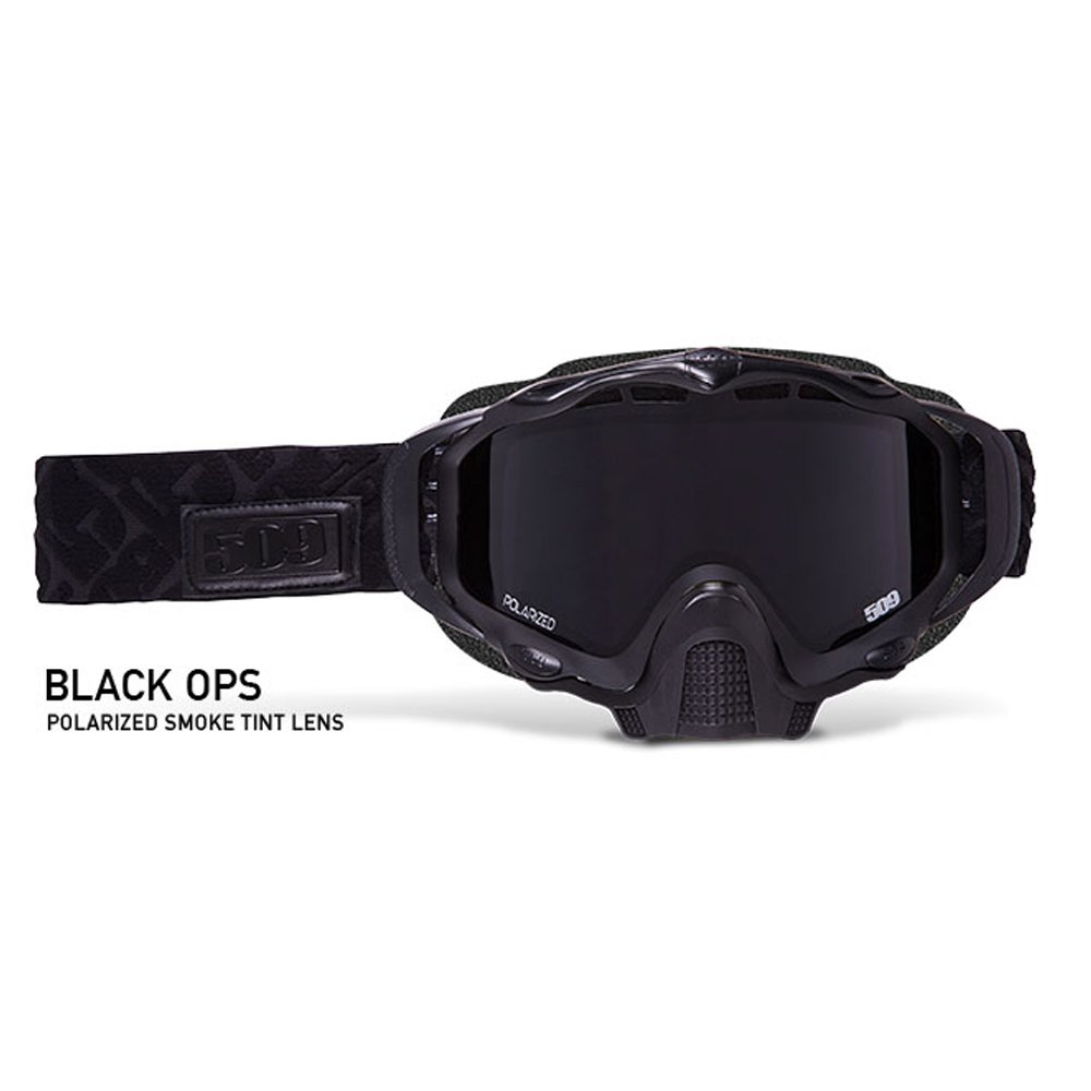 509 Sinister XL5 Polarized Snowmobile Goggle (Black Ops) 509-XLGOG-17-BO