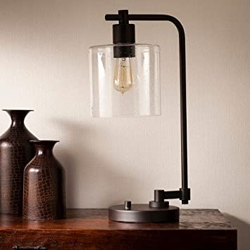 Amazon Com New New Hudson Industrial Desk Lamp Ebony Includes Cfl