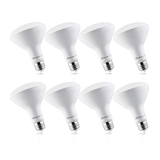 8 Pack BR30 LED Light Bulbs 9W Replacement 60W, 5000K Daylight, 650 LM, E26 Base, Dimmable, Indoor Flood Light for Cans - UL & Energy Star