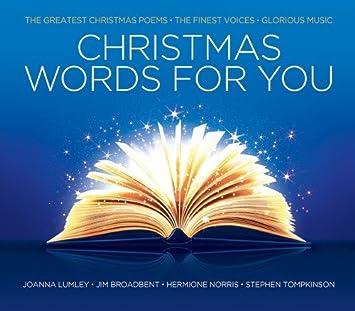 christmas words for you amazon co uk music
