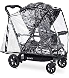 Vented Baby Stroller Cover - Easy On and Off - Rain Cover