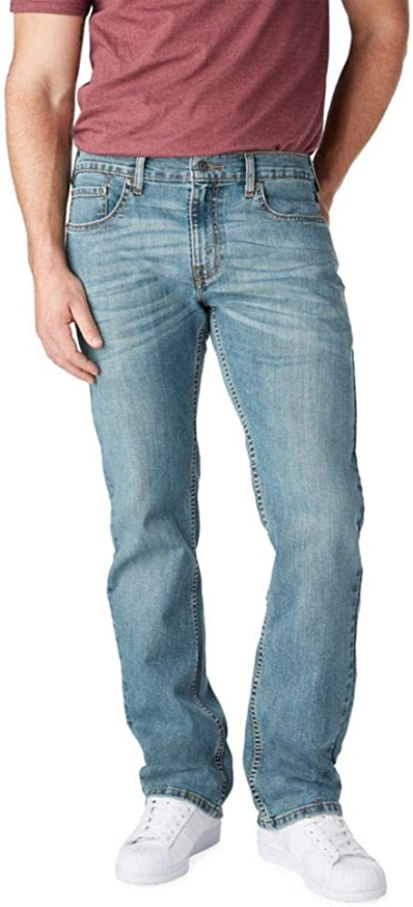 Signature by Levi Strauss & Co. Gold Label Men's Relaxed Fit Jeans at  Men's Clothing store