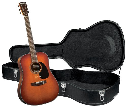 Blueridge BR-40AS Contemporary Craftsman Series Dreadnought Guitar - Sunburst Finish with Hardshell Case