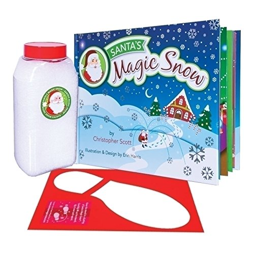 Santa Claus Book and Snow Boot Stencil 3 Piece Kit (Snow Santa)