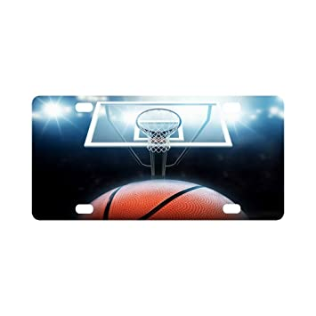 Amazon.com : Basketball Classic Car Accessories Auto Durable Metal ...
