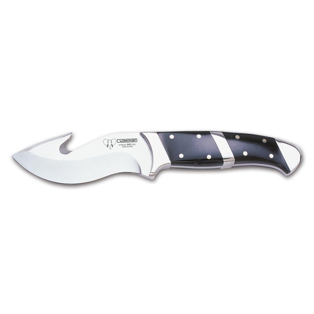 Cudeman Cuchillo desollador 234-N con Mango de Phenolkraf ...