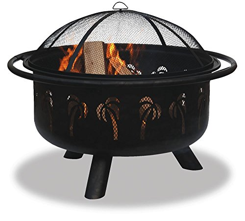 Blue Rhino WAD850SP Oil Rubbed Bronze/Black Outdoor Fire Bowl (Discontinued by - Spring Store Palm Outlet
