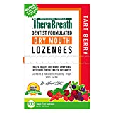 TheraBreath Dry Mouth Lozenges with ZINC, Tart