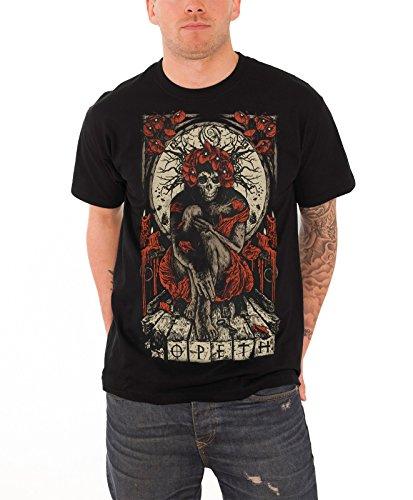 Opeth Haxprocess Official Mens New Black T Shirt