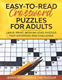 EASY-TO-READ CROSSWORD PUZZLES FOR