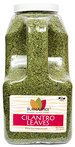 Dried Cilantro Leaves : Cut & Sifted : Herb, Spice, No Additives (9oz.)