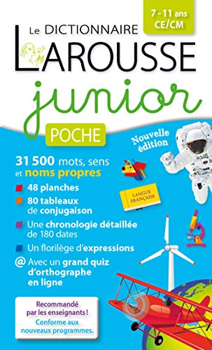 Dictionnaire Larousse junior poche (LA.LF.DI.JUN PO) por Larousse
