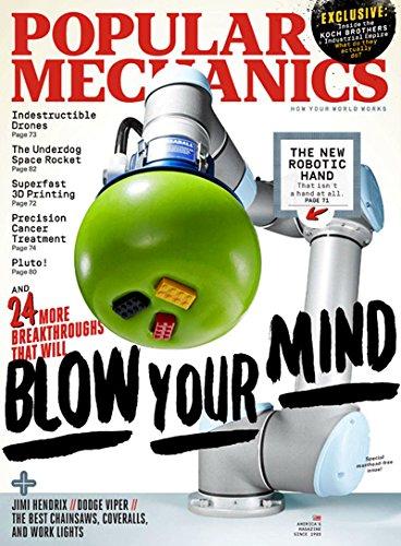 Popular Mechanics - Magazine Subscription from MagazineLine (Save 76%)