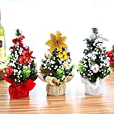 20cm Mini Christmas Tree Table Desk Display Xmas