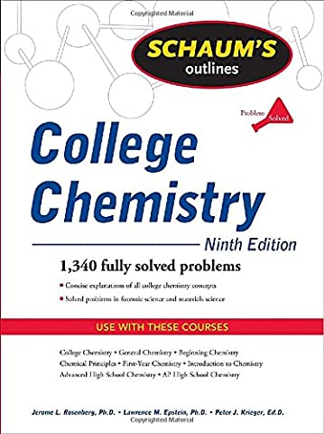 Schaum's Outline of College Chemistry, Ninth Edition (Schaum's Outlines) (Ap Biochemistry)