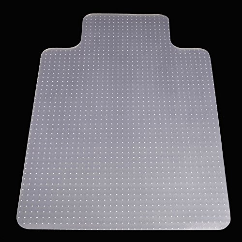 Office Carpet Chair Mats with Nail Heavy Duty Floor Chair mat PVC Matte 48'' x 36'' from Sallymall -0.08'' Thick with No BPA Phthalates, Odorless by SHINOBU