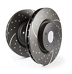 EBC Brakes GD855 3GD Series Dimpled and Slotted Sport Rotor