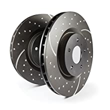 EBC Brakes GD7457 3GD Series Dimpled and Slotted Sport Rotor