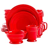 Gibson Barberware Red 16-piece Dinnerware Set For Sale
