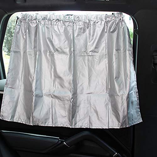 Ventana Lateral Trasera Protector Solar Reflectante DaoRier Parasol de Coche Sombrilla de Coche con Ventosa 210T poli/éster tafet/án para Beb/és