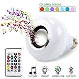 BSOD LED RGB Color Bulb Light E27 Bluetooth Control Smart Music Audio Speaker Lamps
