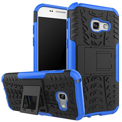Slim Shockproof Case for Samsung Galaxy A3 (Blue) - 4