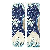 FENNEN Blue Sea Wave Monster Skateboard Grip Tape