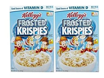 Kelloggs Frosted Rice Krispies Cereal - 12.5 oz - 2 Pack