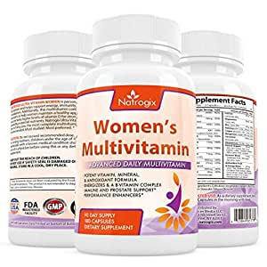 amazon   natrogix women s multivitamin 180 ct
