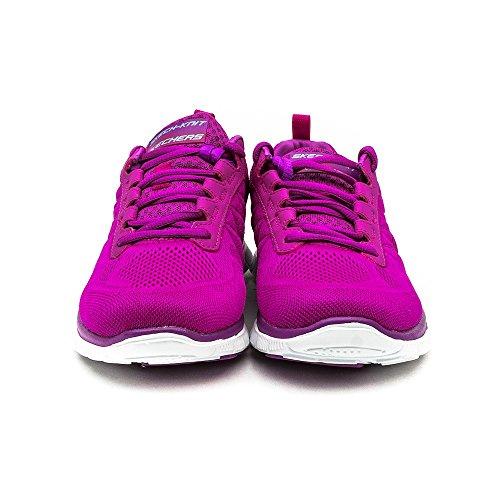 Skechers Flex Appeal Sweet Spot, Zapatillas, Mujer, NULL, NULL Rosa (Pink/Purple)
