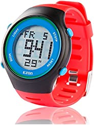 Ezon Digital Sports Watch Men's Multifunction Watch Alarm Stopwatch Countdown Chronograph with LCD Backlight 3