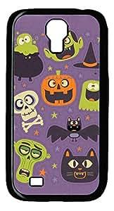 diy phone caseGalaxy S4 Case, Unique Design Protective Hard PC Black Halloween Bg Case Cover for Samsung Galaxy S4diy phone case