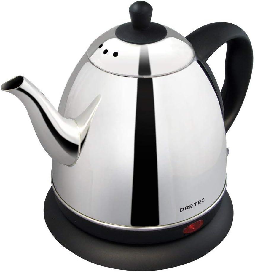 DRETEC Doritekku stainless kettle Macchiato 0.8L PO-115BK2 by DRETEC