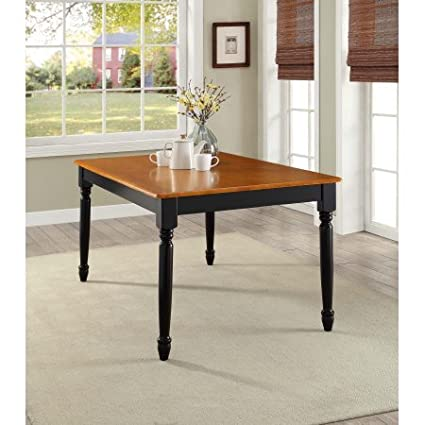 Amazon Com Better Homes Gardens Autumn Lane Farmhouse Dining Table