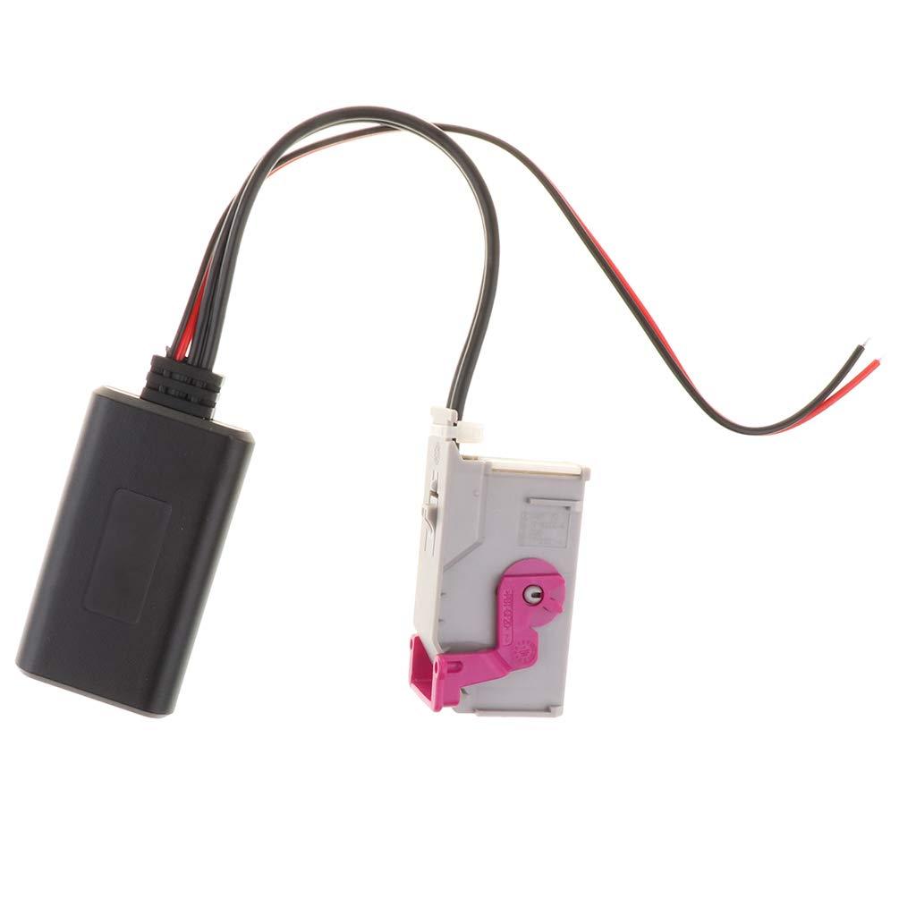 SM SunniMix Audio Adapter Cord RNS-E Host 32 Pin Wireless Car Kit Bluetooth Module Car Audio Radio Aux Cable for Audi A3 A4 A6 A8 TT R8