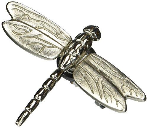 Dragonfly in Flight Doorbell Ringer - Nickel Silver - Dragonfly Designed