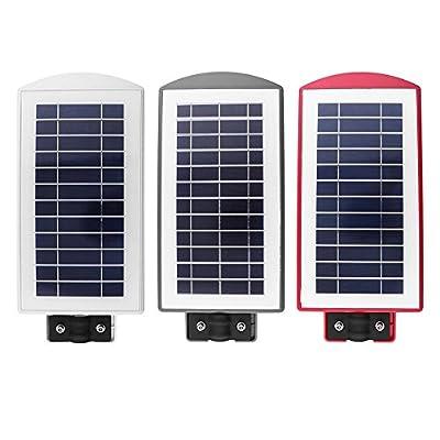 alloet 40W 40LED Waterproof Solar Light Outdoor Road Street Wall Induction Lamp