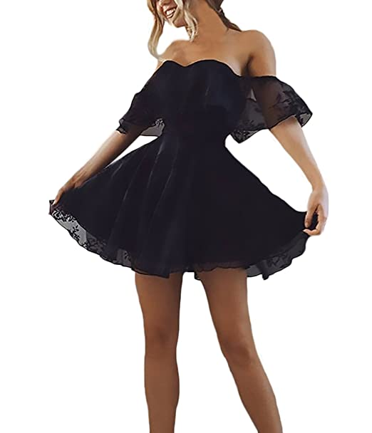 huge sale 382e9 4f3b5 HX fashion Donna Abito da Sera Corti Elegante Estive Chic ...