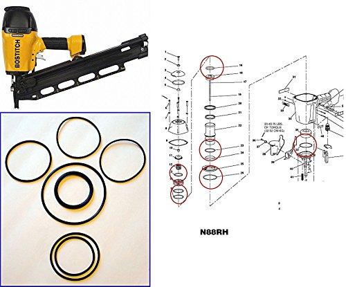 Nailer N88 N88RH O-ring Kit (Nailer O-ring Kit)