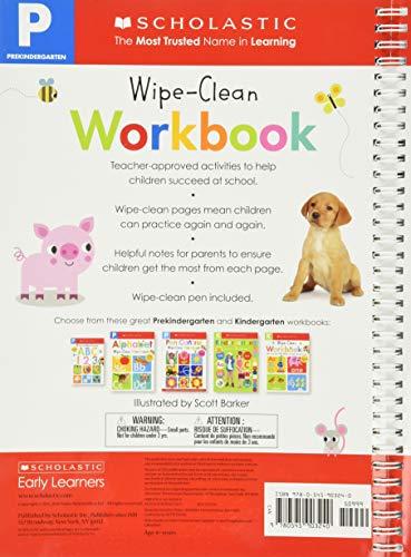 Pre-K Wipe-Clean Workbook: Scholastic Early Learners (Wipe-Clean)