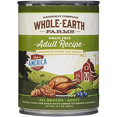 Whole Earth Farms Grain Free Canned Adult Dog Food