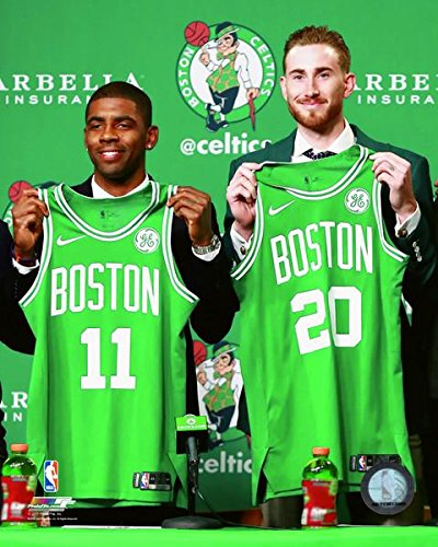Kyrie Irving & Gordon Hayward Boston Celtics 2017 NBA Photo