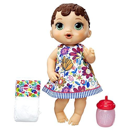 Boneca Baby Alive Hora do Xixi, Hasbro, Morena