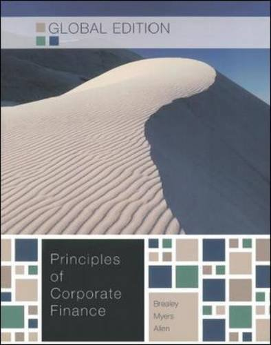 Amazon. Com: principles of corporate finance, 10th edition.
