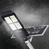 300W Solar Street Lights Outdoor Lamp, 480 LEDs