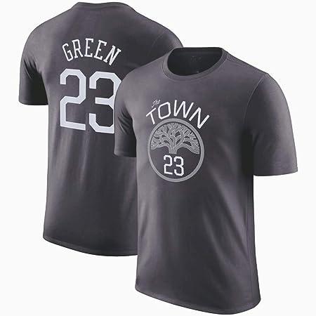 HS-XP Uniforme de Baloncesto Camiseta de Hombre GSW Verde # 23 ...